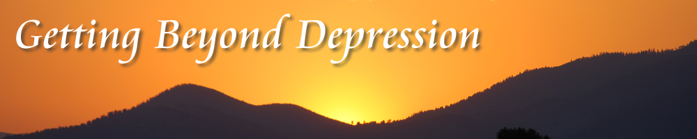 Getting Beyond Depression